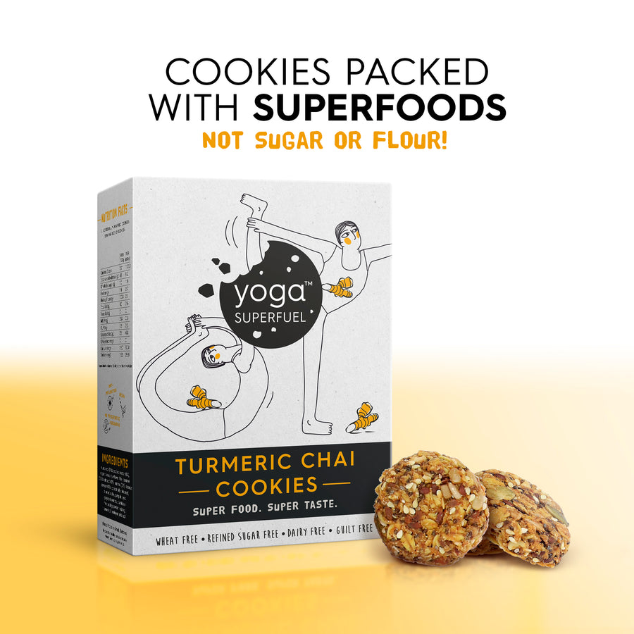 Yoga Superfuel Turmeric Chai Cookies