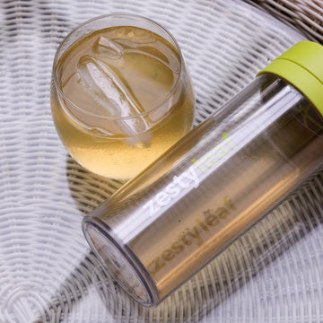 ZestyLeaf Shock Resistant Double Walled Clear Bottle