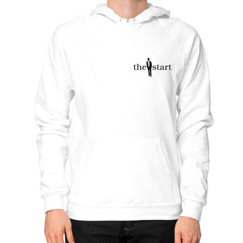 Hoodie (on man) White thestartottawa