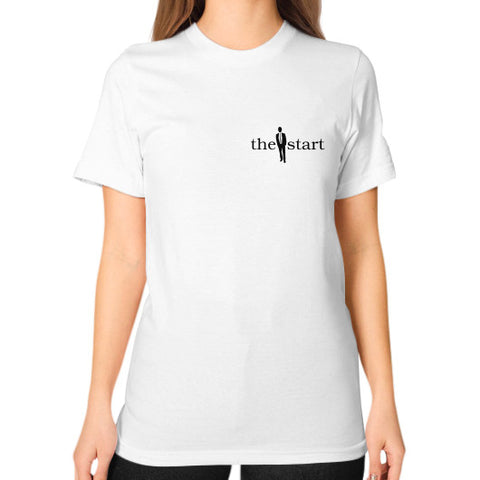 Unisex T-Shirt (on woman) White thestartottawa