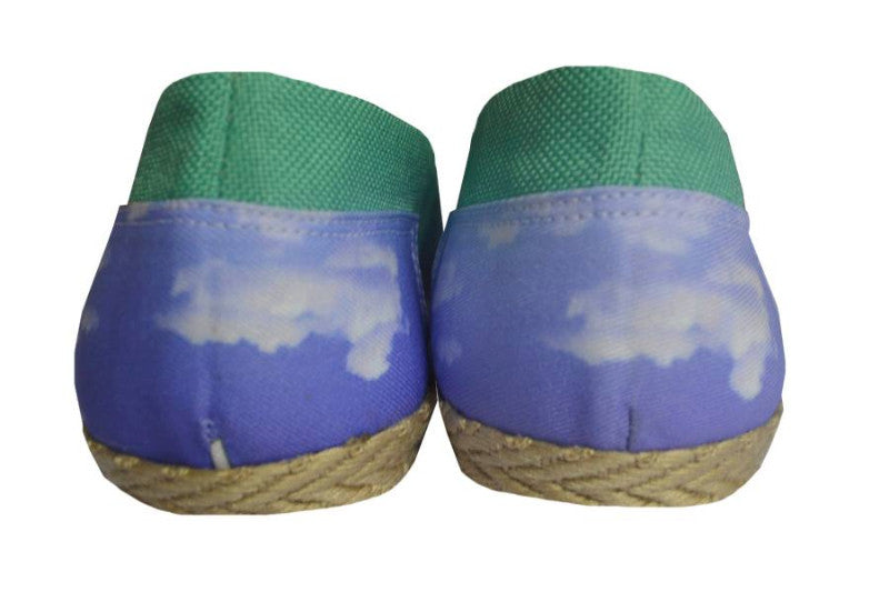 Handmade Espadrilles The Sky is the Limit: