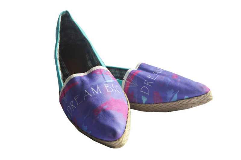 Handmade Espadrilles Dream Big: