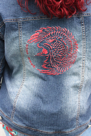 Hand Modified Jean Jacket