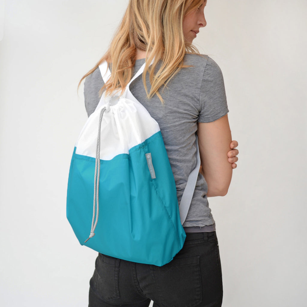 NEW drawstring backpack!