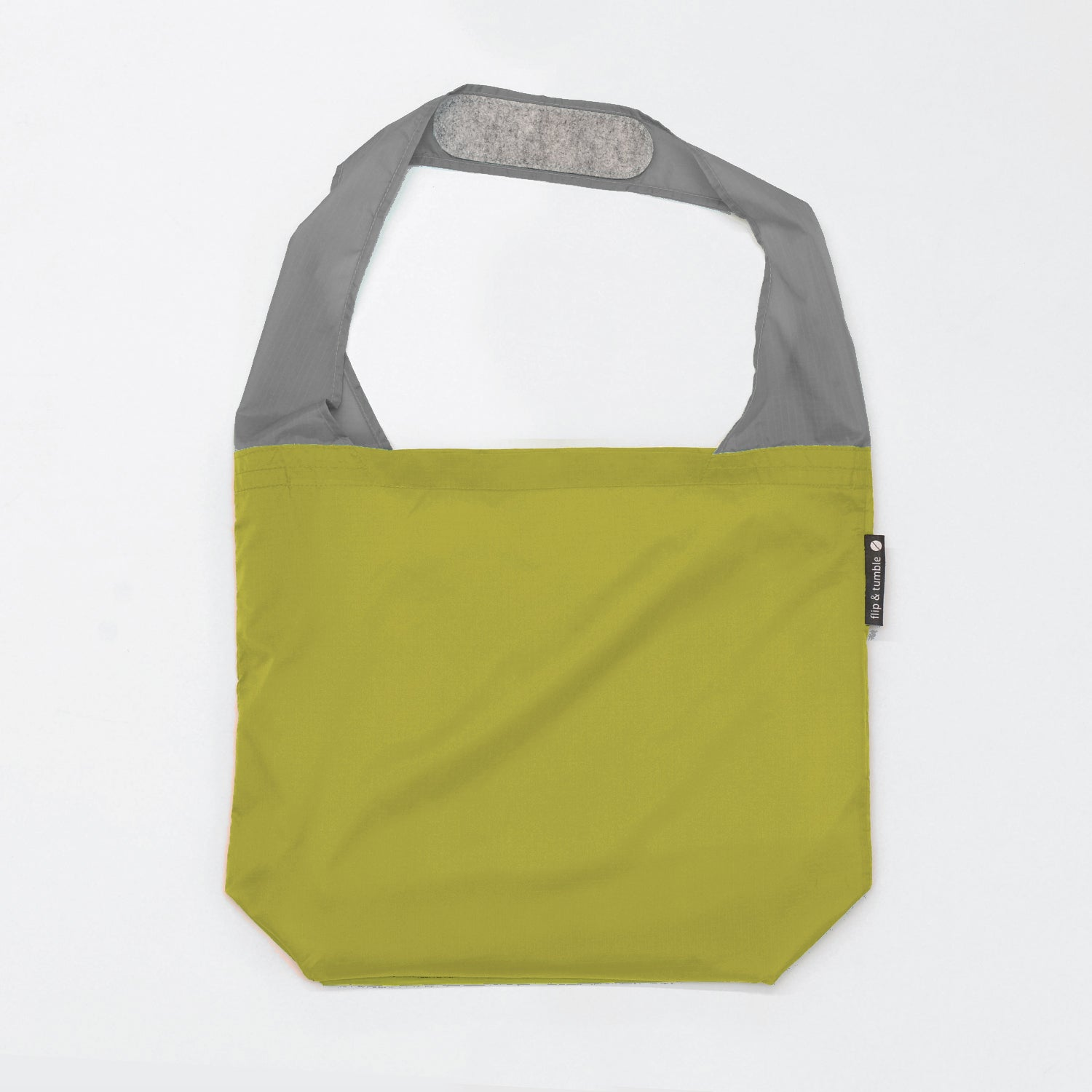 green reusable grocery shopping bag