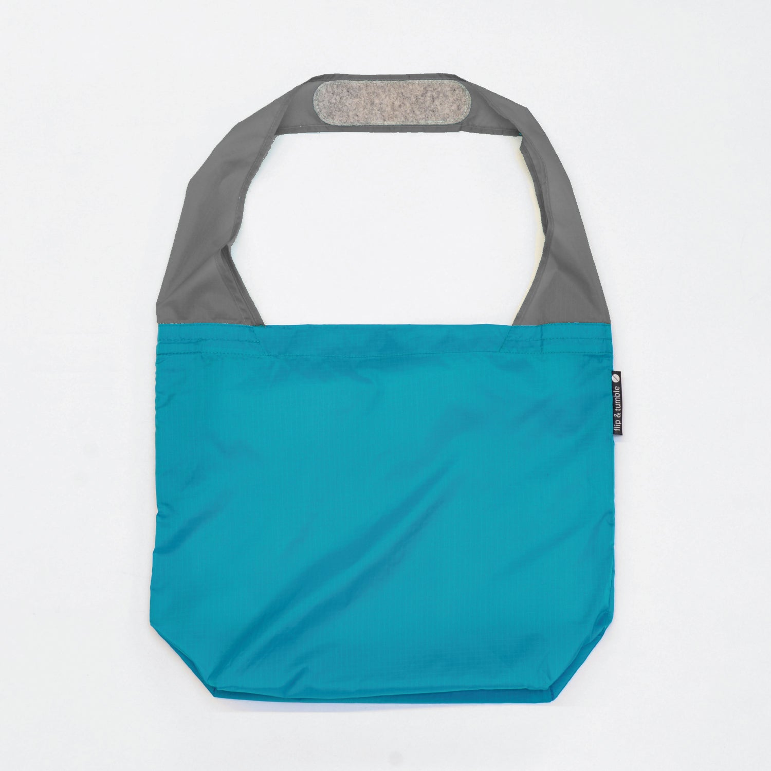 marine blue reusable grocery shopping bag