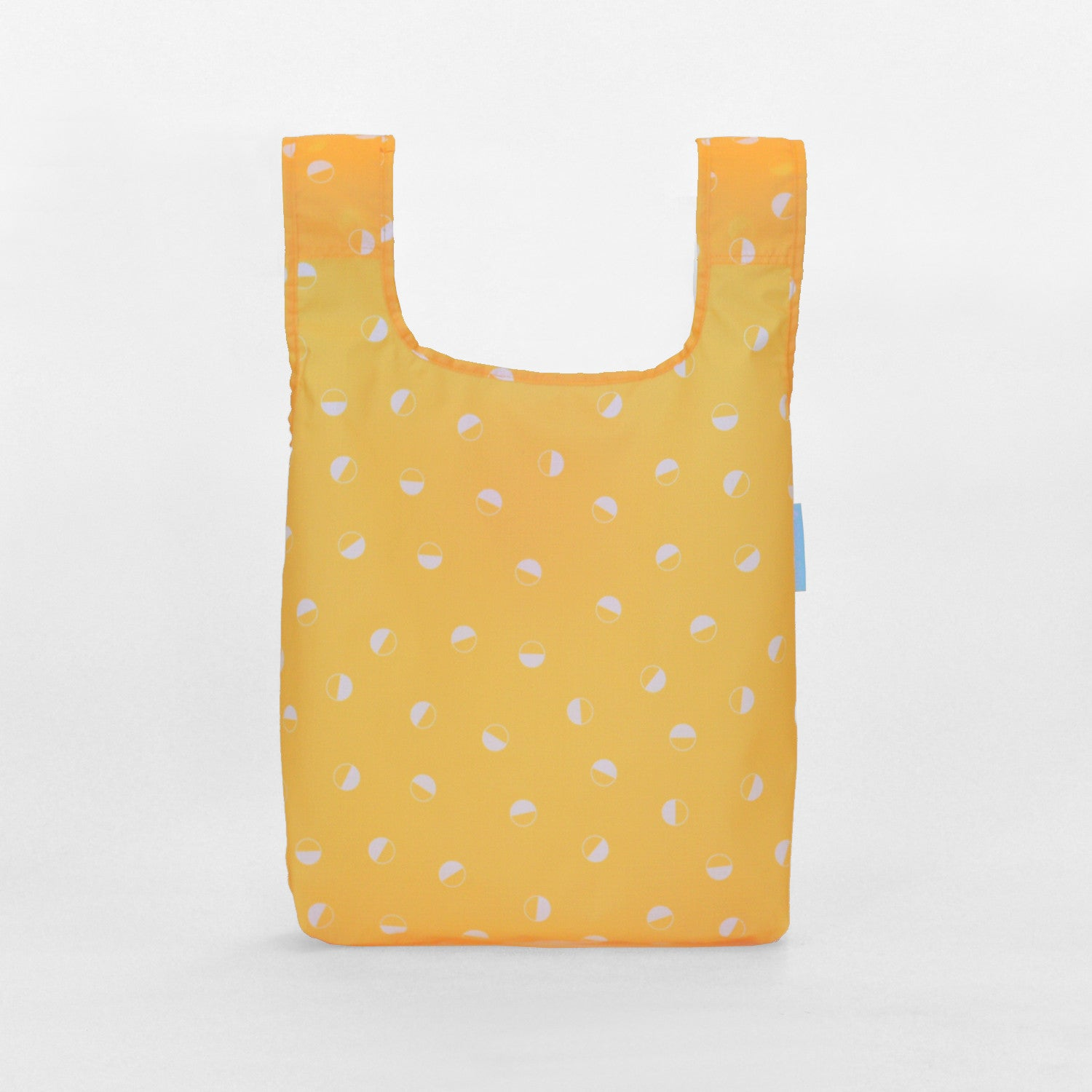 dots reusable grocery shopping bag