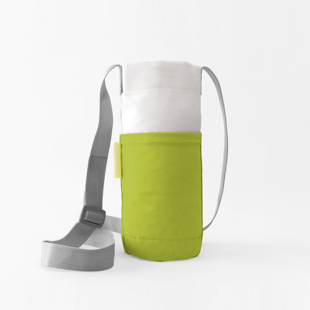 green water bottle bag sling