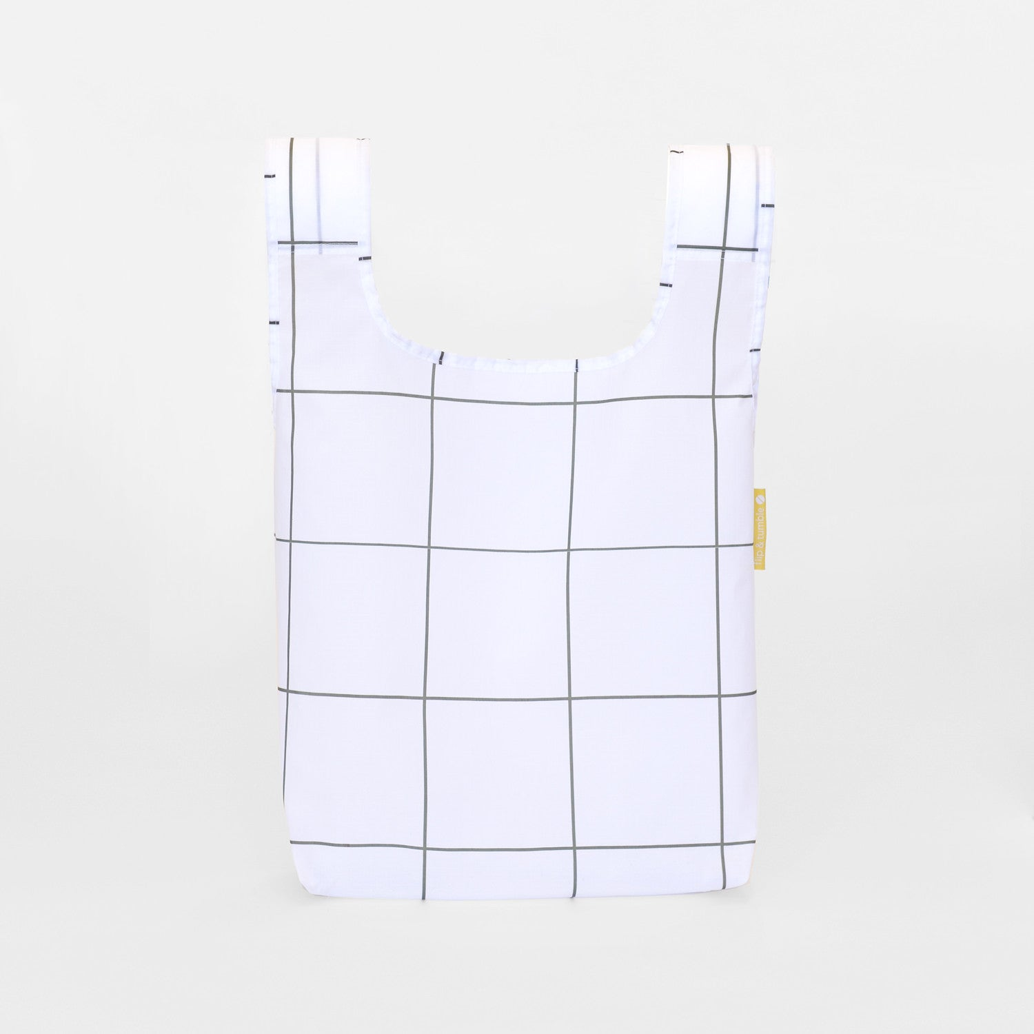 grid reusable grocery shopping bag