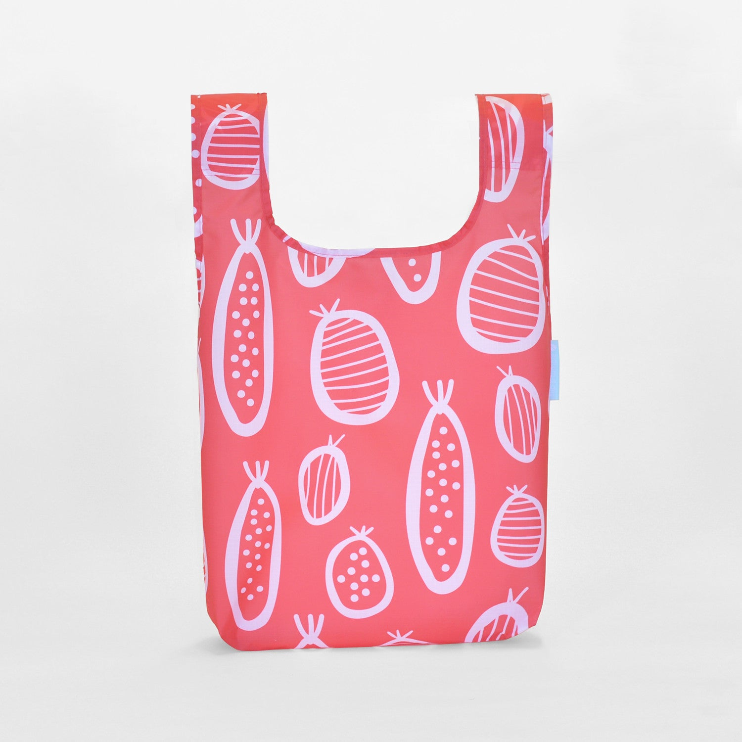 guavas reusable grocery shopping bag