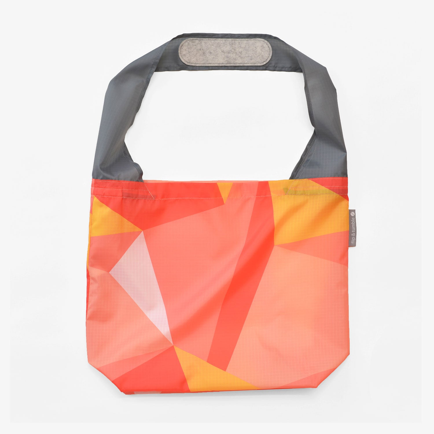modern reusable grocery shopping bag
