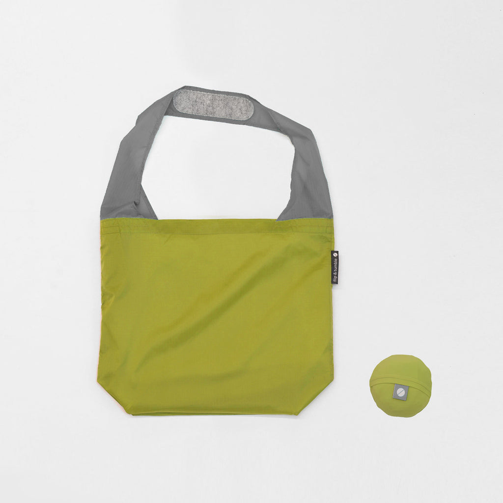 reusable grocery bag in green