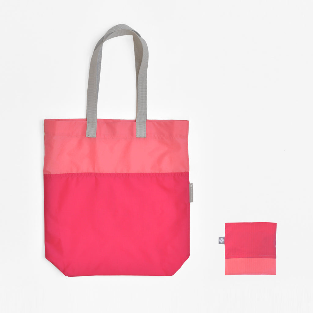 pink tote bag reusable shopping bag