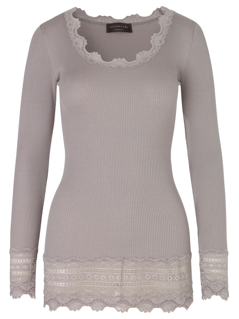 Long Lace Blouse