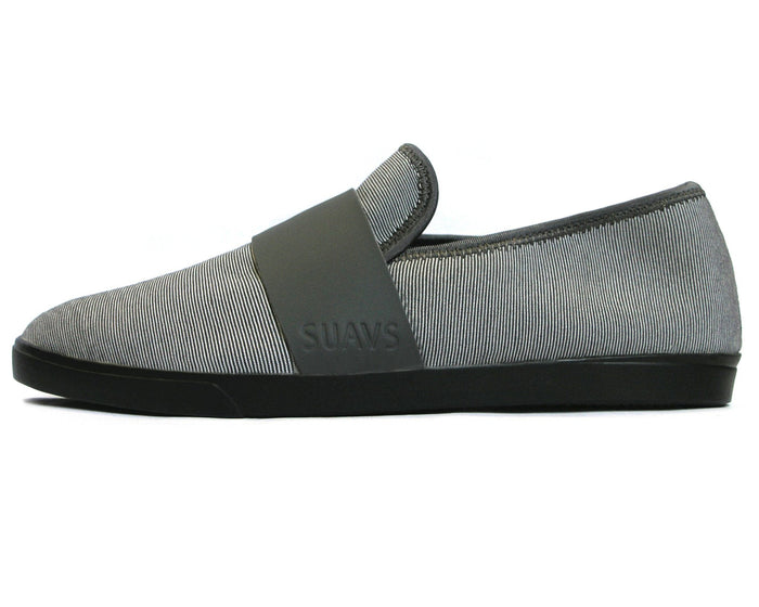 women's winter slip-on, slate with black sole
