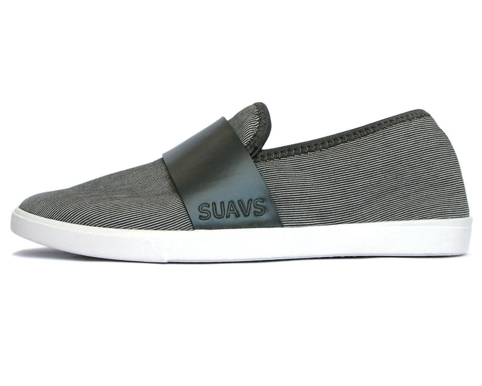 women's slip-on, slate with white sole