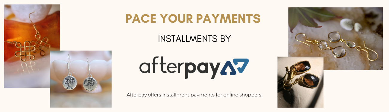 Installment payments by Afterpay now at Sitara Jewelry | Handmade Artisan Gemstone Jewelry