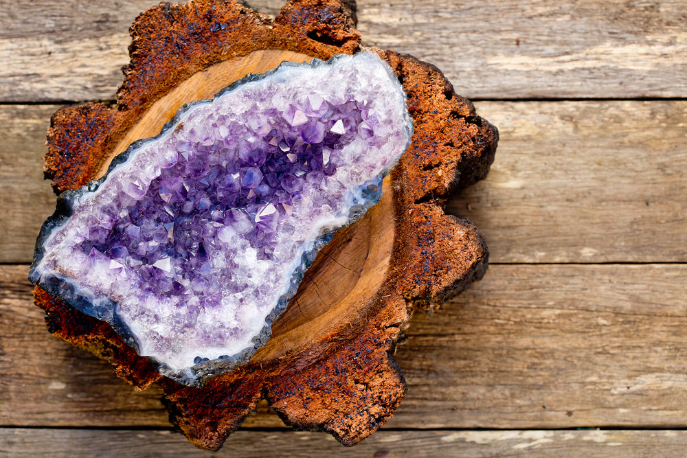 Image of Amethyst Crystal for Gemstone Meanings