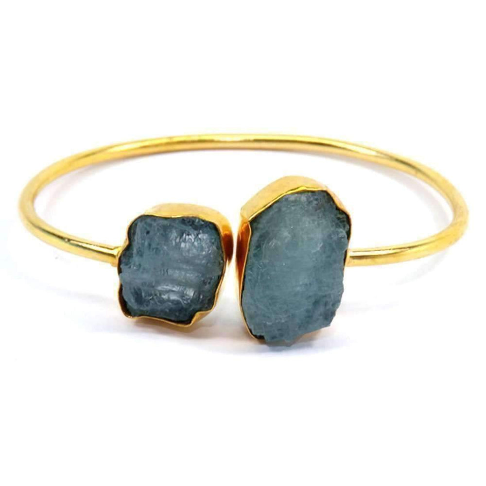 Hema Gemstone Bangle - Sitara Collections