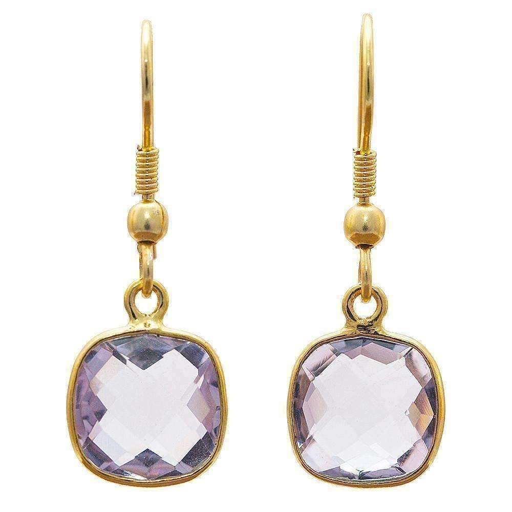 Januja Amethyst Earrings