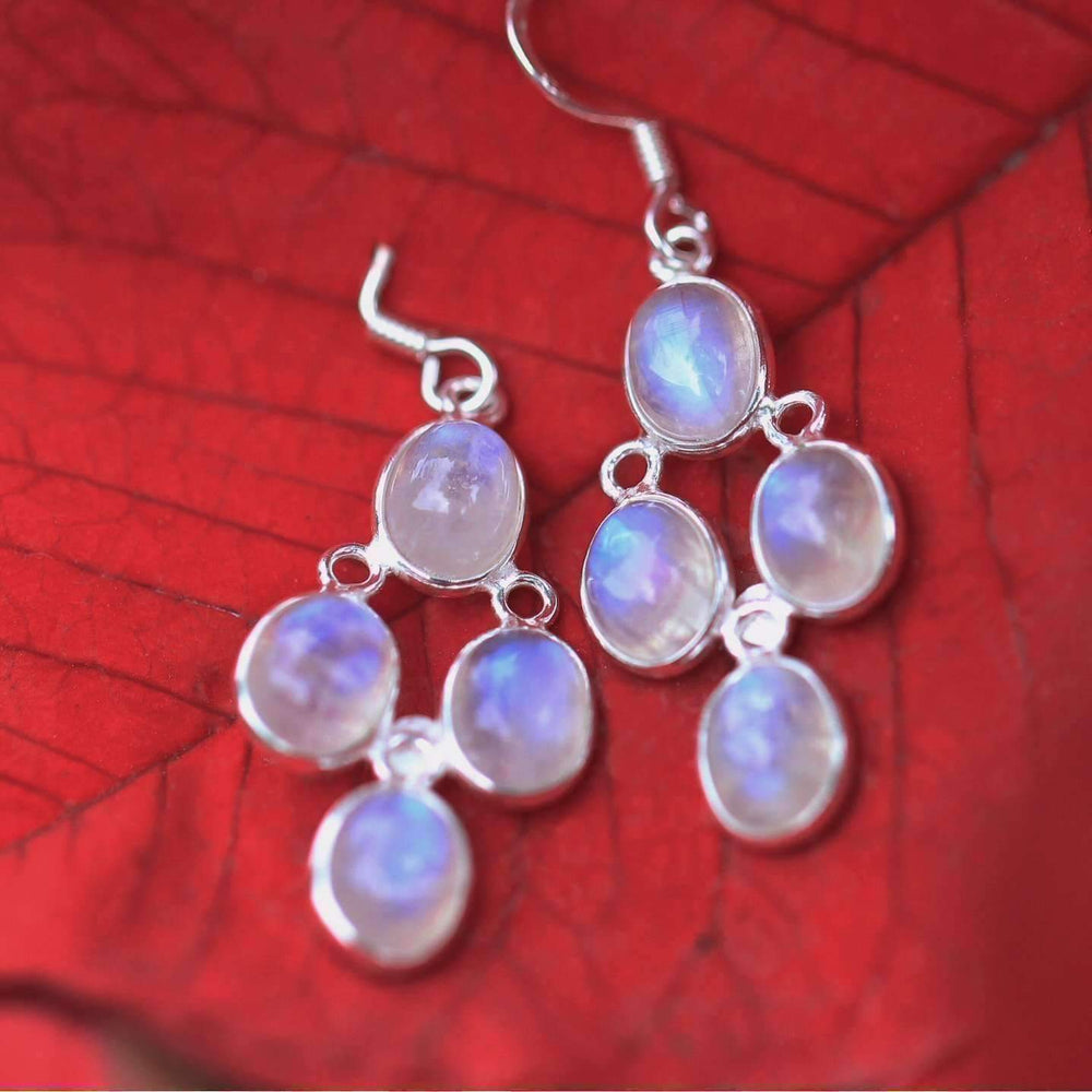 Nidra Moonstone Earrings