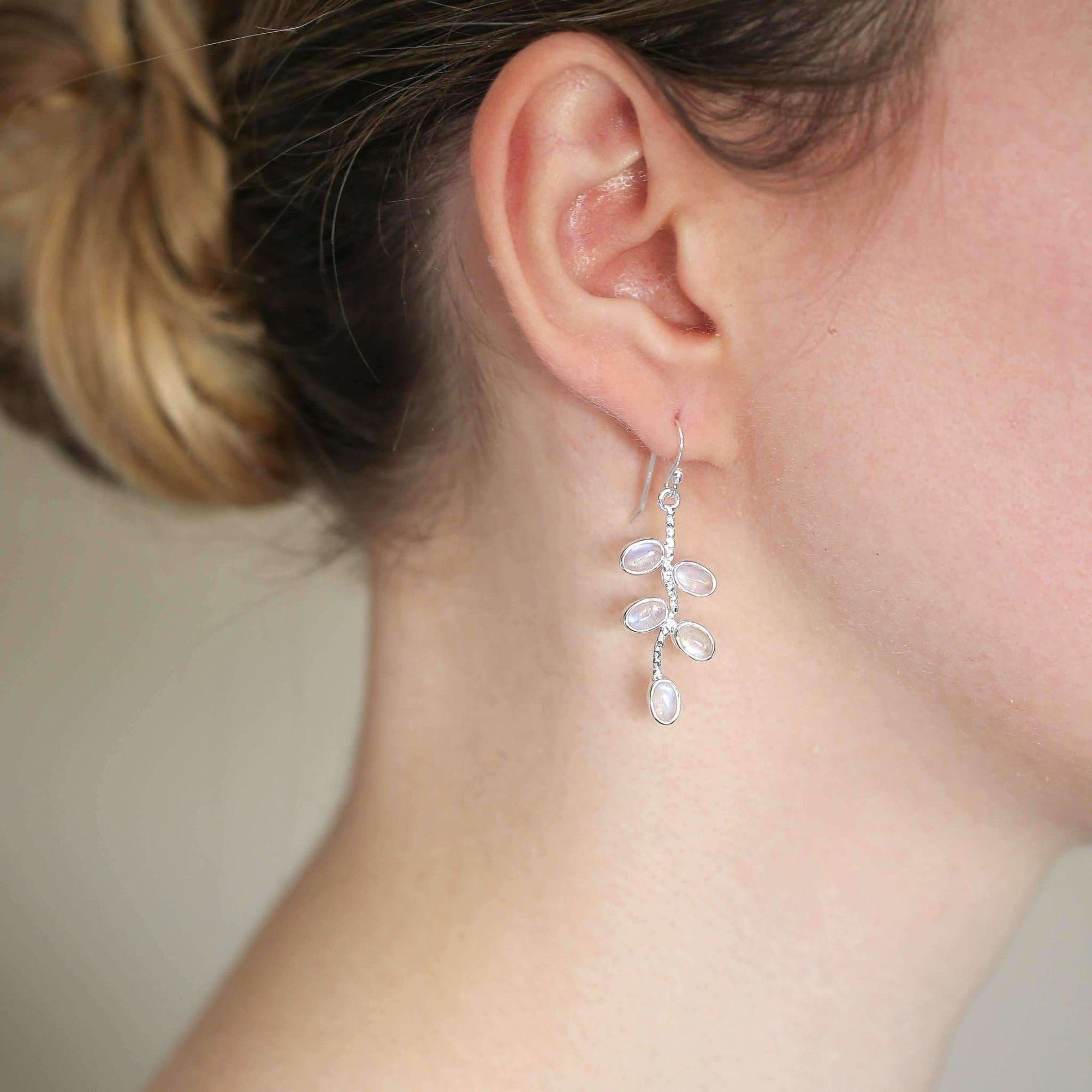 Olivia Moonstone Earrings