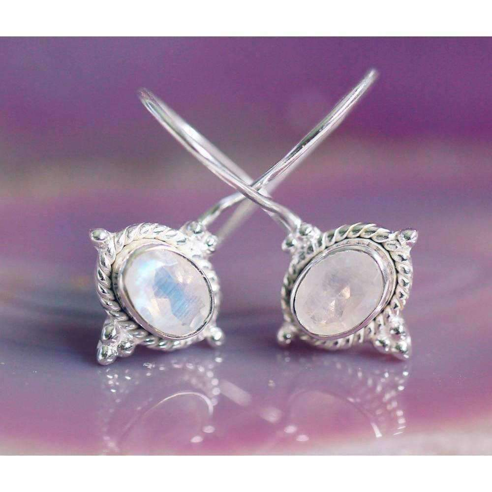 Omisha Moonstone Earrings