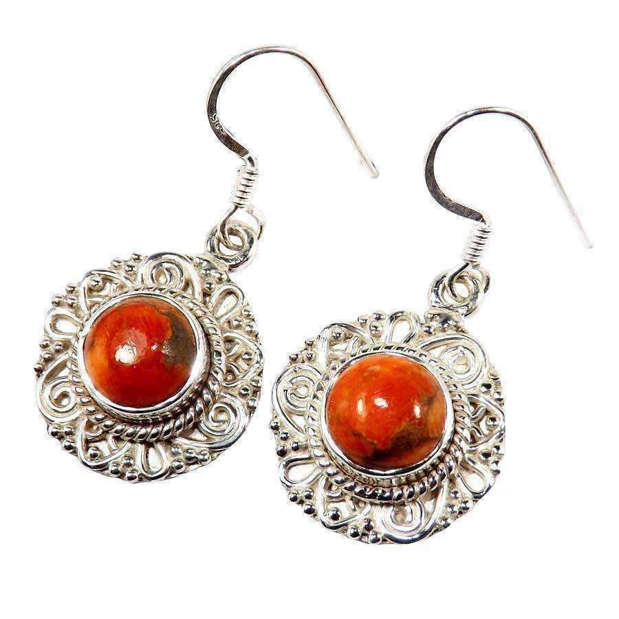 Tivra Gemstone Earrings - Sitara Collections