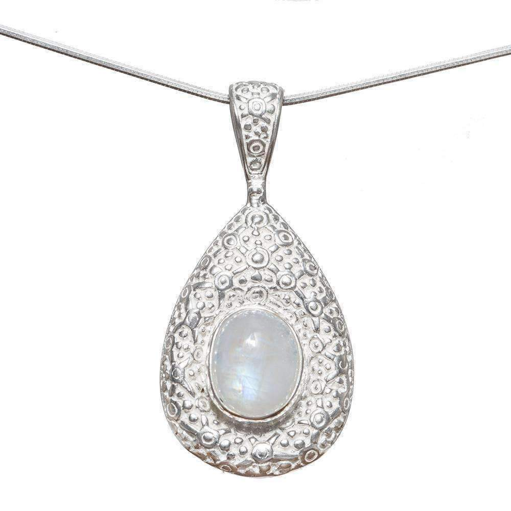 Triveni Moonstone Necklace - Sitara Collections
