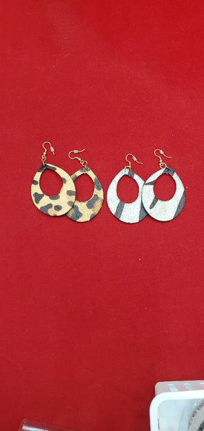 Light Weight Animal Earrings