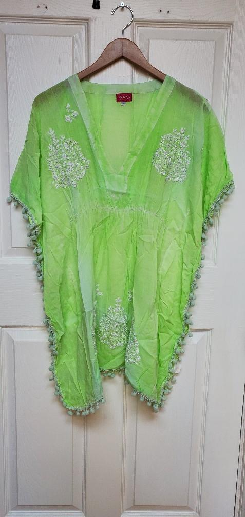 Lime green coverup