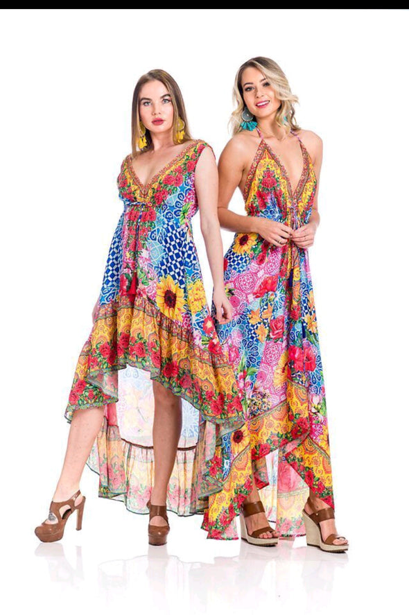 HIGH LOW DRESS AND HAWAII DRESS
