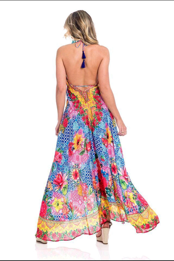 BACK OF HAWAII DRESS