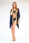 KK 055- Ranee's Goddess Navy Robe - PREORDERS ONLY