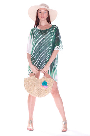104 Palm tree kaftan