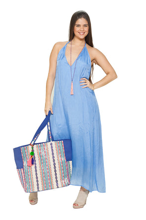 BD - Periwinkle  Sexy, backless dress, three way dress.. NEW...COLOR