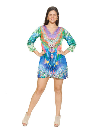 K-549 beach dress/ tunic/coverup