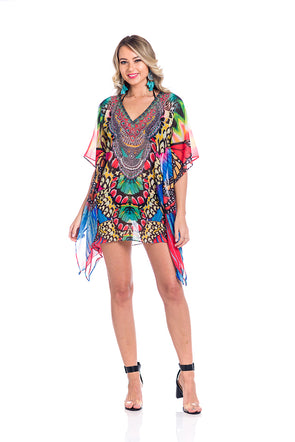 Copy of Multicolor kaftan 2020 - Best Seller -