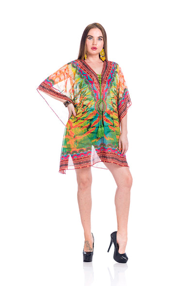Multicolor kaftan 2020 - Best Seller -