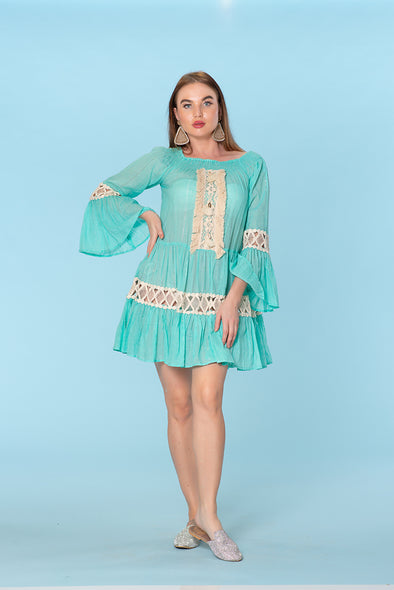 Ranee's turquoise dress