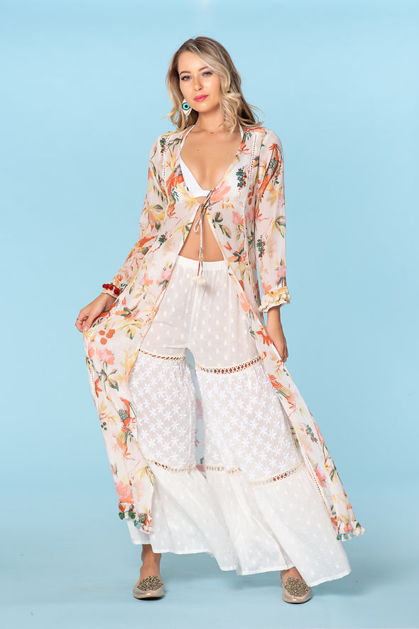 Duster, Coverup, cotton resort collection