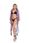 Floral Duster- Pair it with the same dress, or wear it like a kimono, cover up, or jacket