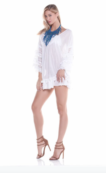 Bohemian lace dress - perfect vacation little dress