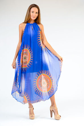 Sun Low Back Maxi Dress