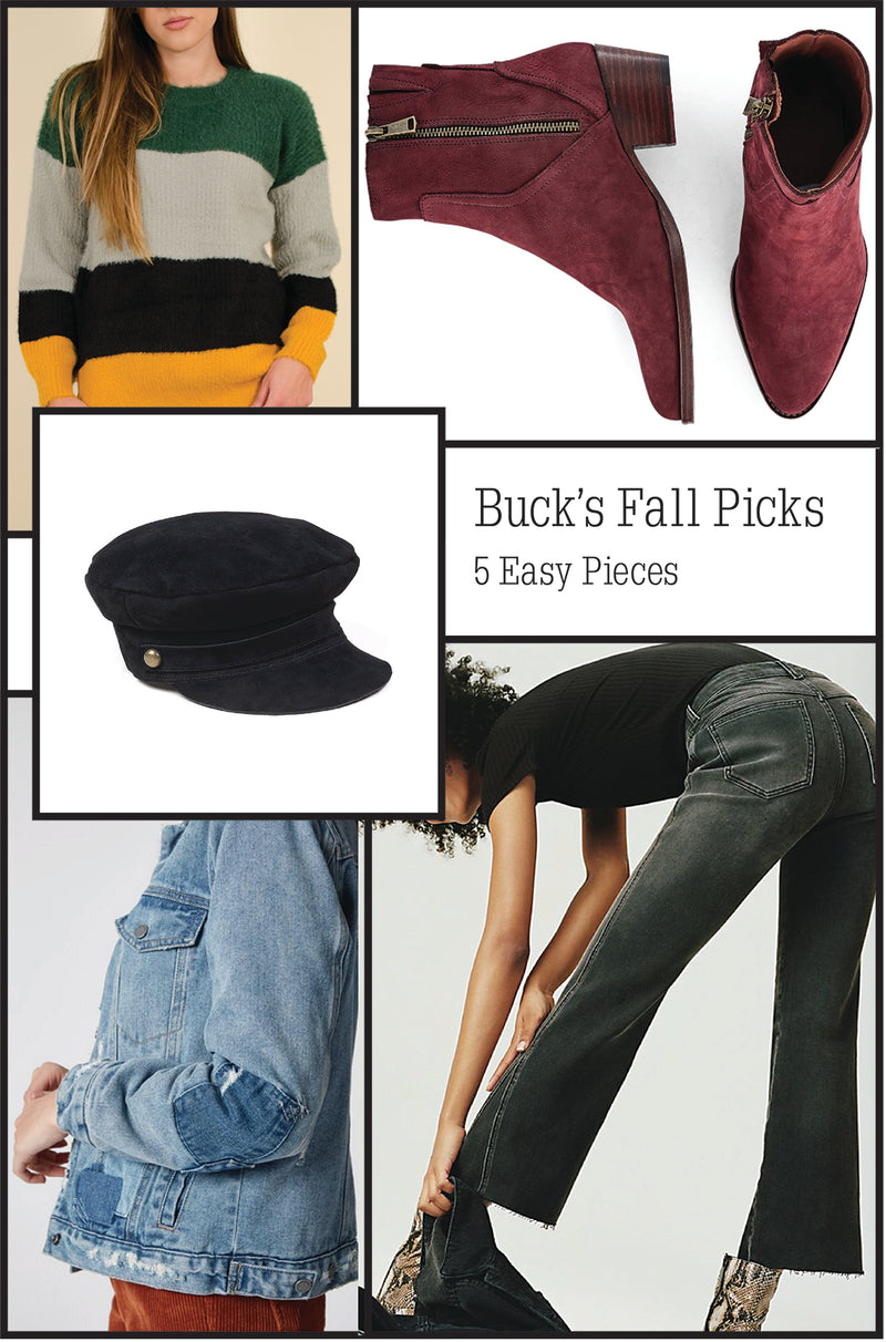 Buck's Fall Picks: 5 Easy Pieces