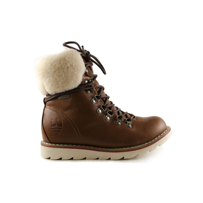 Royal Canadian Grizzleez - Lethbridge (Cognac) waterproof rain snow boots weather