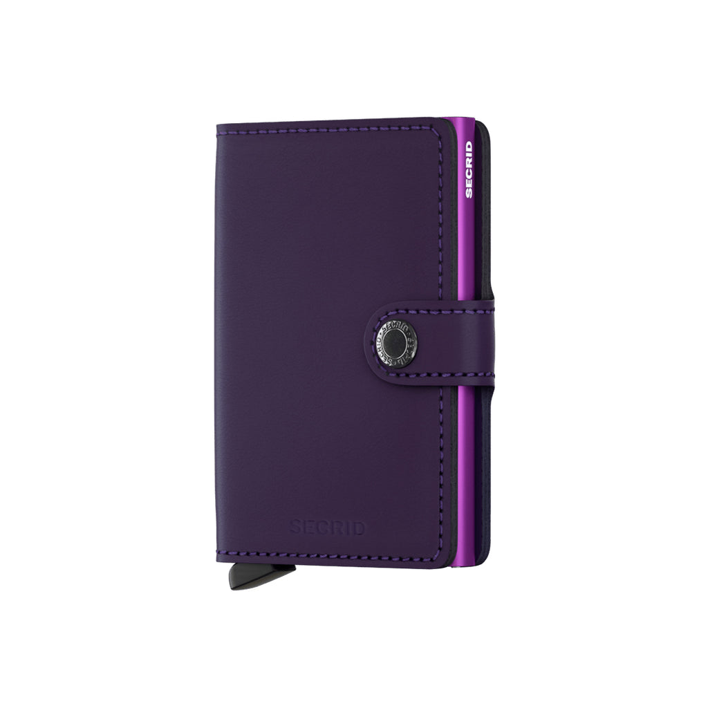secrid - mini (matte purple), mini (matte purple) - secrid, secrid, secrid wallets, secrid wallets toronto, secrid wallets canada, secrid toronto, secrid canada,