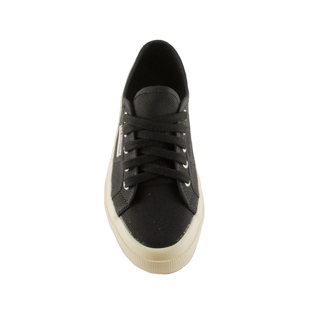 Superga - Cotu (Black) sneaker black lace up shoe running shoe