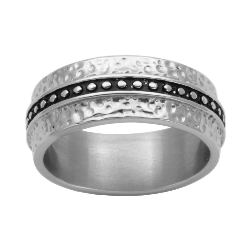 T4X83800 Hammered Ring