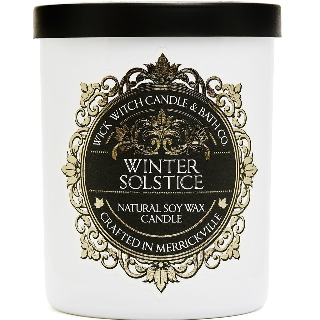 Wick witch candles, Canadian made candles, Canadian made goods, artisanal candles, fall candles, Wick witch Starry Night candle, Winter Solstice candle , Toronto Boutique, Boutique Candles
